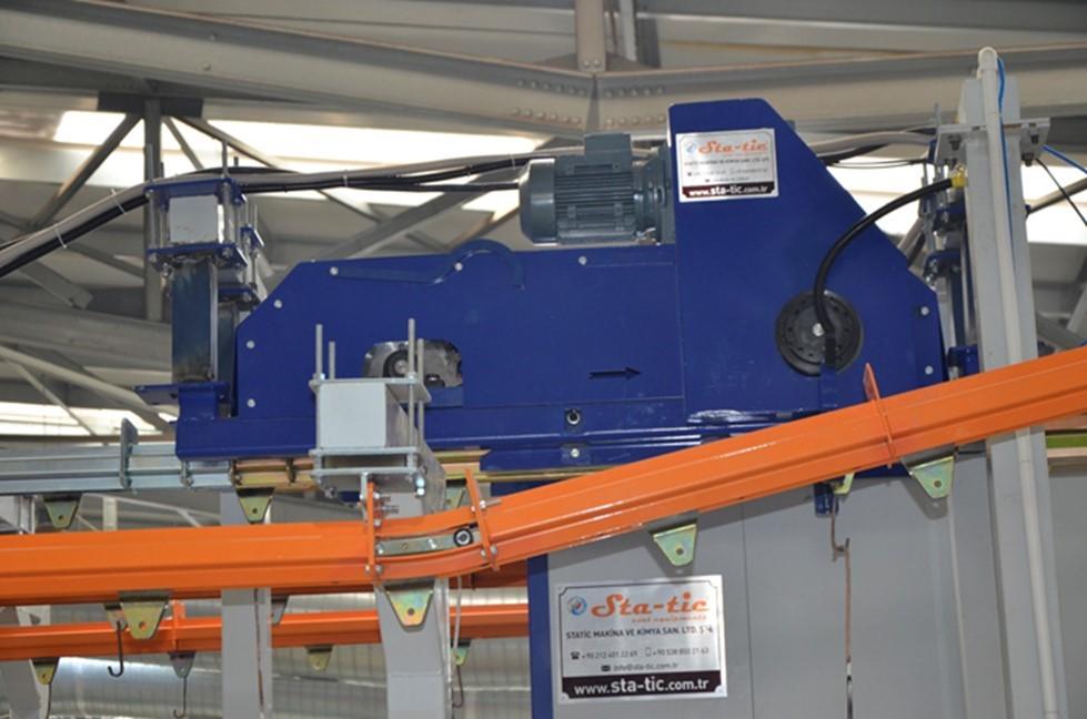 подвесной карданный конвейер